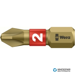 Биты WERA РН 2/25 мм 851/1 BTH 056412