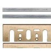 Комплект твердосплавных  двухсторонних лезвий  HM 82мм и крепежных пластин
