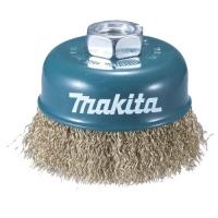 Чашечная щётка (витая проволока с латунью) Makita D-39746
