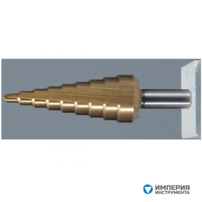 Сверло ступенчатое  по металлу Makita TiN 4-32 мм (D-40135)