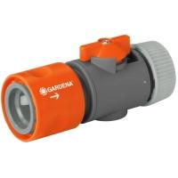 Коннектор Gardena с регулятором 13 мм (1/2)
