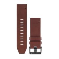 Ремешок сменный (кожа) коричневый Garmin QuickFit 22 мм