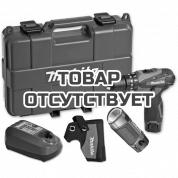 Аккумуляторная ударная дрель-шуруповерт Makita + фонарь HP 330 DWLE
