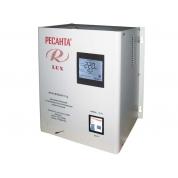 Однофазный цифровой настенный стабилизатор напряженния Ресанта ACH-8000Н/1-Ц