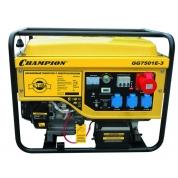 Бензиновый генератор Champion GG7501E-3