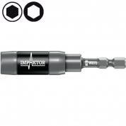Ударный держатель WERA 897/4 IMP R с кольцевым магнитом и пружинным стопорным кольцом 057676
