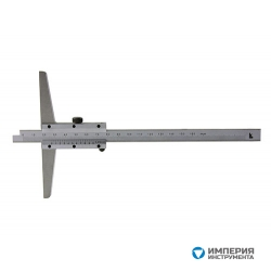 Штангенглубиномер ШГ 0-160 осн 120мм 0.05 тв. сплав