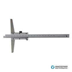 Штангенглубиномер ШГ 0-300 осн 120мм 0.05 тв. сплав