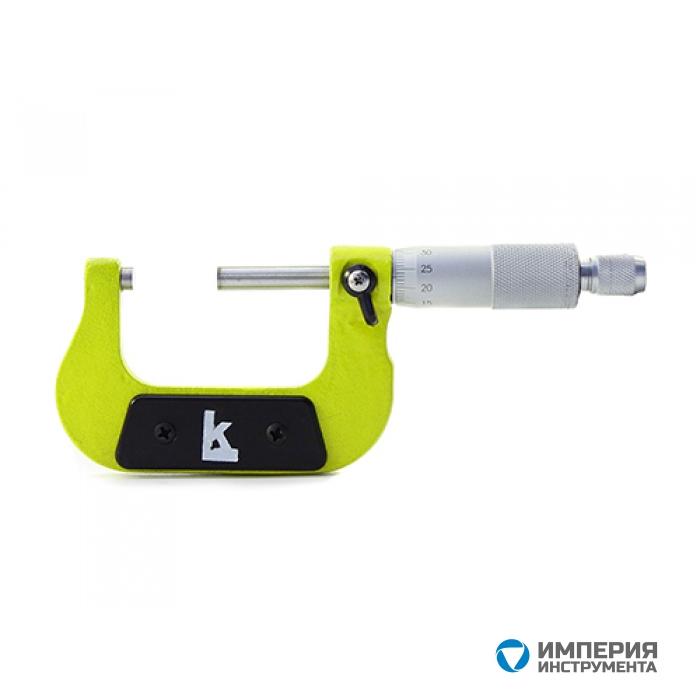 Микрометр МК-200 0.01 КЛБ желтый