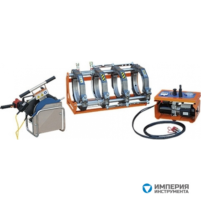 Электрогидравлическая стыковая сварочная машина Ritmo BASIC 250 с комплектом вкладышей зажимов Ø 75 – 250 мм