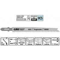 Пилки лобзиковые (дерево/тонкий) CMT JT234X-5