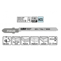 Пилки лобзиковые (дерево/чистовой рез) CMT JT101AO-5
