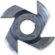 БЕЛМАШ Фреза радиусная для фрезерования полуштапов 125х32х7 мм (левая)