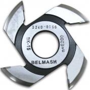 БЕЛМАШ Фреза радиусная для фрезерования полуштапов 125х32х9 мм (правая)