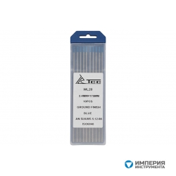 ТСС (TSS) Вольфрамовый электрод синий WL20-175/2,4 (10 шт. в упаковке)