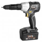 Аккумуляторный заклепочник для резьбовых заклепок Messer EXTRATOOL RV-20103