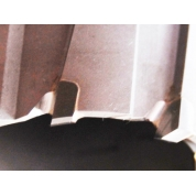 TCT корончатое сверло по металлу Messer 50L x 42D