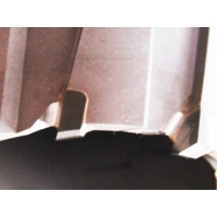 TCT корончатое сверло по металлу Messer 50L x 50D