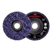 Круг 3M Scotch-Brite™ XT-RD, S XCS, фиолетовый, 115 мм х 22 мм