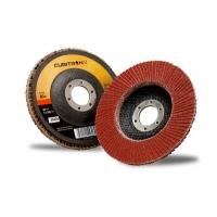 Лепестковый шлифовальный круг 3M™ Cubitron™ II 967A, конический, 125 мм х 22 мм, 80+