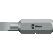 Биты WERA 0,5х4х25 мм 800/1 Z 072050