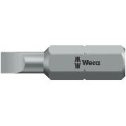 Биты WERA 0,6х4,5х25 мм 800/1 Z 072055