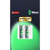Биты WERA 851/1 BTZ SB Premium Plus PH 2 073361 упаковка блистер