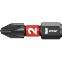 Биты WERA 851/1 IMP DC SB Impaktor PH 2x25 073916 упаковка блистер