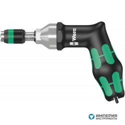 Динамометрическая отвертка WERA 7400, регулируемая, 4,0-8,8 Nm, с быстросменным патроном Rapidaptor, пистолетная ручка 074705