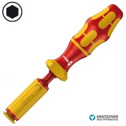 Ручка-держатель динамометрическая отвертка диэлектрическая WERA Kraftform Серия 7400 VDE (1,2-3,0 Нм) 074750