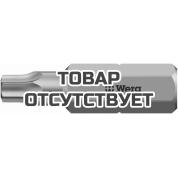 Биты WERA 15 IPR/25 мм 867/1 IPR TORX PLUS с отверстием 134701