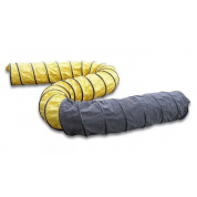 Гибкий шланг (желто-черный) 7.6м-250мм MASTER