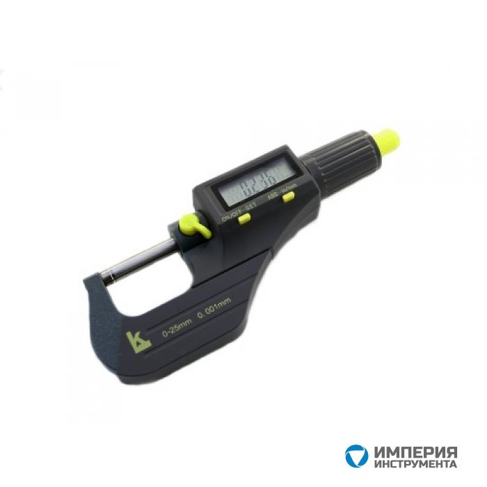 Микрометр гладкий электронный МКЦ 0-25 0.001