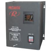 Однофазный цифровой стабилизатор пониженного напряжения Ресанта СПН-13500