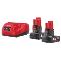 Энергокомплект Milwaukee M12 NRG-602 4933451903