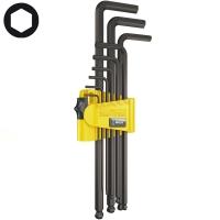 Набор Г-образных ключей, дюймовых WERA 950 PKL/9 SZ N BlackLaser 022171