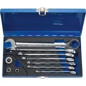 Набор из 10 комбинированных гаечных ключей с трещоткой Heyco HE-50725600580