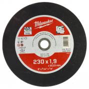 Отрезной диск по металлу Milwaukee SCS 41 / 230 x 1.9 x 22 мм (1шт)