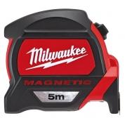 Рулетка метрическая магнитная Milwaukee Premium 5 м/ 27 мм (1шт)
