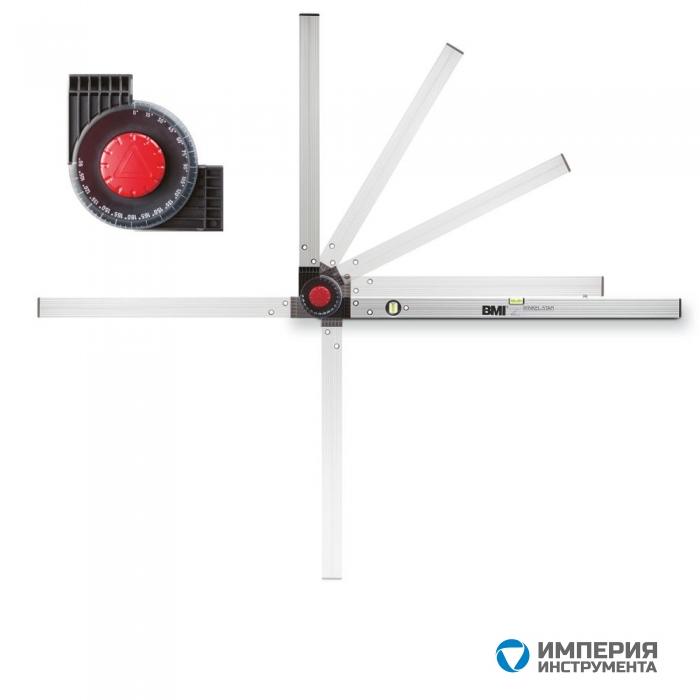 Уровень уголковый BMI (100 мм х 150 мм)