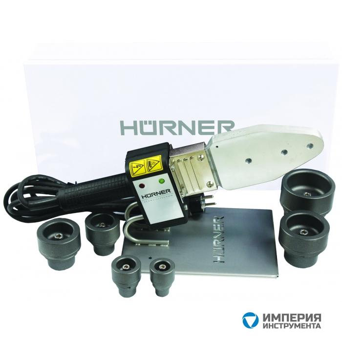 HURNER Аппарат для раструбной сварки HMS 125 T, 16–125 мм, 230 В с контролем температуры
