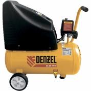 Denzel Компрессор воздушный безмасляный LC 24-195 (1.1 кВт, 195 л/мин, 24 л, 8 бар)