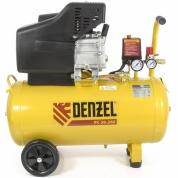 Denzel Компрессор воздушный PC 50-260 (1.8 кВт, 260л/мин, 50 л, 10 бар)