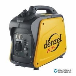 Denzel Генератор инверторный GT-1300i Х-PRO (1,3 кВт, 220В, бак 3 л, ручной старт)