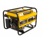 Denzel Генератор бензиновый GE 4000 (3,5 кВт, 220В/50Гц, 15 л, ручной старт)