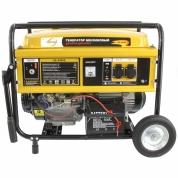 Denzel Генератор бензиновый GE 4500Е (4,5 кВт, 220В/50Гц, 25 л, электростартер)