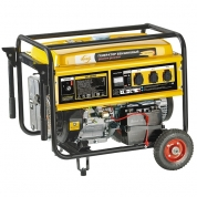 Denzel Генератор бензиновый GE 6900E (5,5 кВт, 220В/50Гц, 25 л, электростартер)
