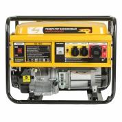 Denzel Генератор бензиновый GE 7900 (6,5 кВт, 220В/50Гц, 25 л, ручной старт)