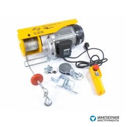 Denzel Тельфер электрический TF-1000 (1 т, 1600 Вт, высота 12 м, 8 м/мин)