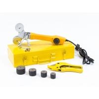 Denzel Аппарат для сварки пластиковых труб DWP-750 (750 Вт, 260-300 град., компл насадок, 20-40 мм)